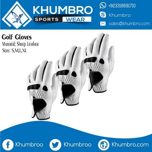 mens leather golf gloves