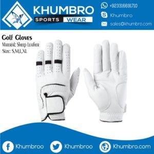 Pure Cabretta Sheep Leather Golf Gloves
