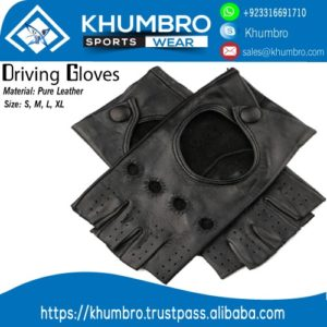 "Half Finger Leather Driving Gloves – KhumBralt=""half-finger-leather-driving-gloves"""