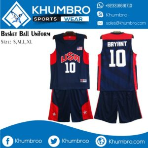 NBA USA Basketball Uniforms