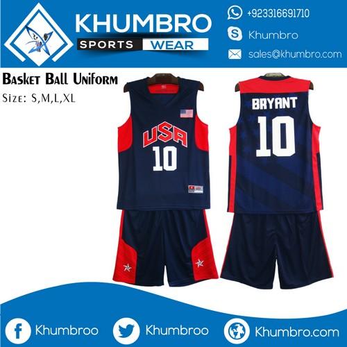 NBA USA Basketball Uniforms