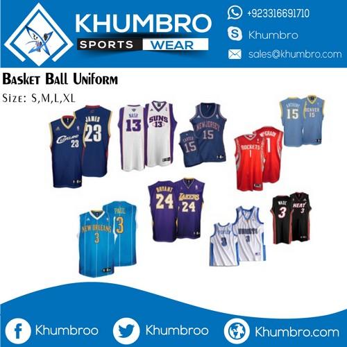 professional basketball uniforms