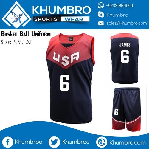 USA Basketball Uniforms 2020